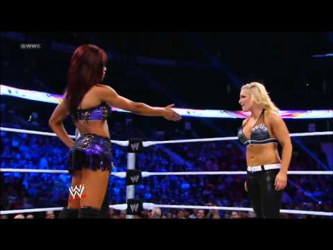 Natalya vs Alicia Fox WWE Superstars 9/13/12