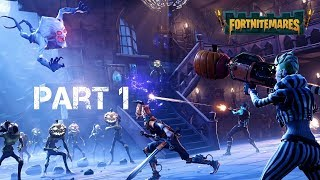 Fortnite Save the World: Fortnitemares part 1|| Explore the Mist → Haunted Forest Hexylvania (PS4)