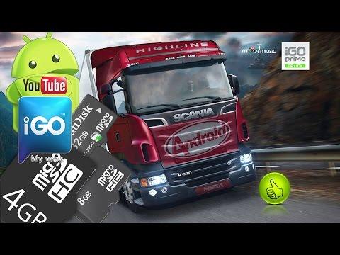 IGO Primo Truck Android 4.4.2 [KitKat] SD Card + Navteq Q3 R3 Full Europe.Youtube.Mega.Android.