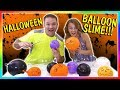MAKING HALLOWEEN BALLOON SLIME We Are The Davises mp3