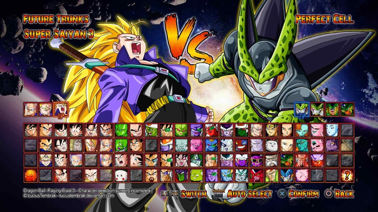Dragon Ball Xenoverse - Roster