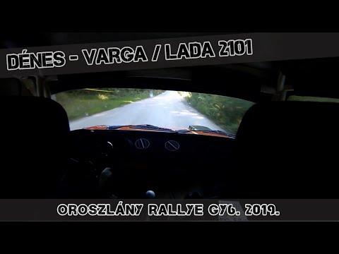 Dénes-Varga Lada 2101 / Bányásznapi Oroszlány Rallye 2019.SS6.