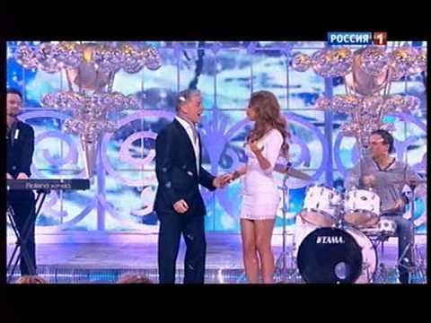 ОЛЕГ ГАЗМАНОВ И ЮЛИЯ САВИЧЕВА БЕЛЫЙ СНЕГ 2013