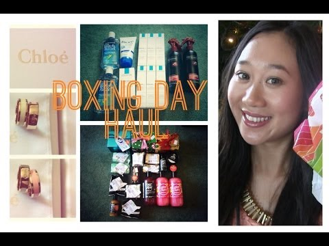 Boxing Day Sales Haul: LUSH, Priceline, Myer, David Jones