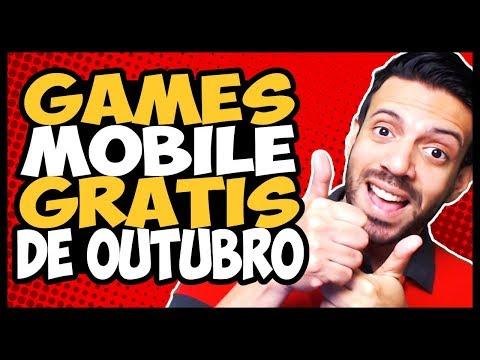 GAMES GRÁTIS! Os 7 MELHORES MOBILE de Outubro 2017