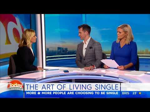 Clare Payne on the Art of Living Single, on the Today Show
