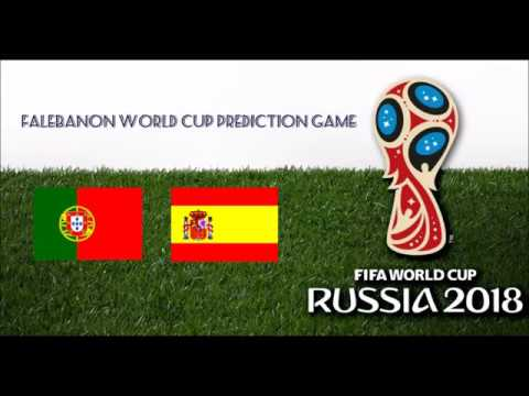 Portugal Vs. Spain FALebanon World Cup Prediction Game