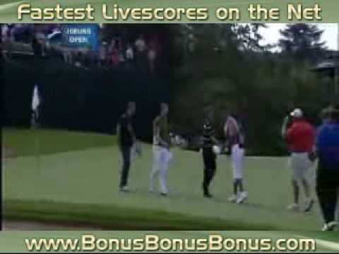 Day 4 Highlights 2009 Joburg Open Hansen Wins Goosen Albatross Video