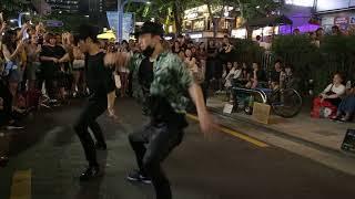 JHKTV] 홍대유나이트 강레오hong dae k-pop dance unite&kang leo 전야 (前夜) (The Eve)