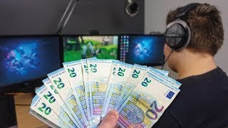 IK GEEF HEM 20 EURO PER KILL IN FORTNITE!