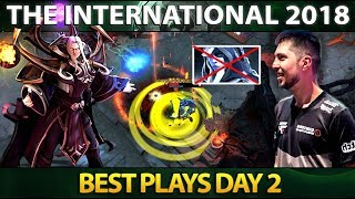 Best Plays Group Stage Day 2 - The International 2018 - Dota 2 #TI8
