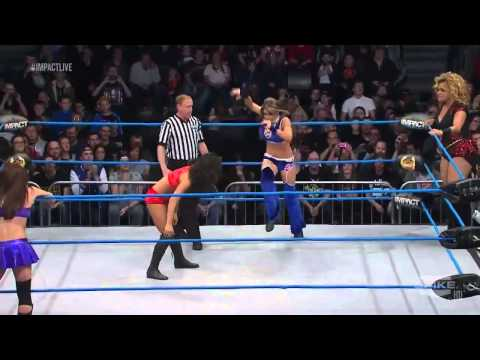 Velvet Sky & Madison Rayne vs Gail Kim & Lei