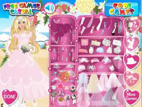Barbie Car Racing Games