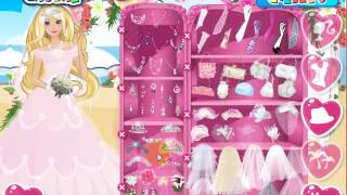 Dress Up Games  Celebrities  Barbie  Barbie Perfect Bride Dress Up Game
