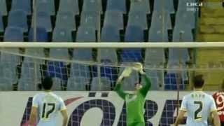 Nistor D gol incredibil ~  (Steaua 2 - 2 Pandurii) 12/5/2014