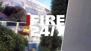 Brandweer Prio 1 BRAND IN EEN SENIORENFLAT!!