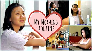 My Morning Routine (Inspiration, Skin & Hair Care)