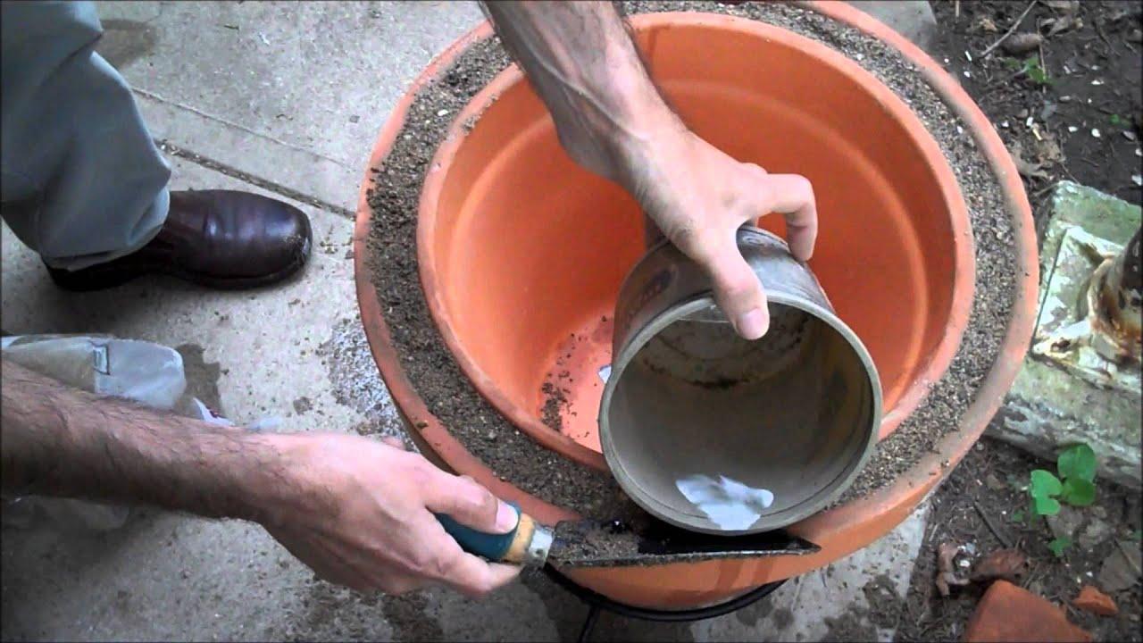 Горшки из глины своими руками