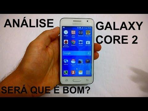 Galaxy Core 2 Análise e Testes (Review BRASIL)