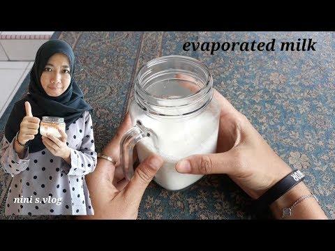 Cara membuat Susu Evaporated#evaporated milk recipe