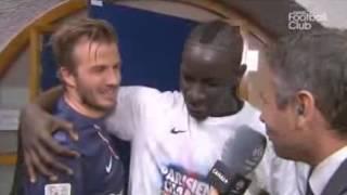 David Beckham parle en Wolof