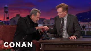 Jeff Goldblum Thinks Palm Reading Is Nonsense Conan On Tbs