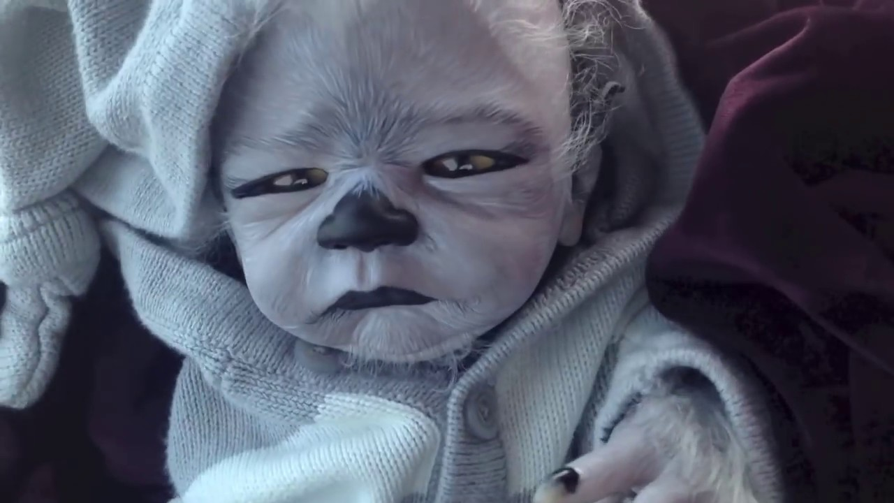 Introducing Wolfrick Baby Werewolf Reborn Doll Not A