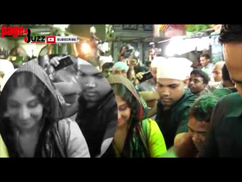 Hot Bollywood Actress Vidya Balan Gets Mobbed During Bobby Jasoos Promotions video