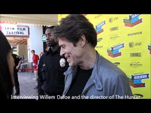 Red Carpet interview with Willem Dafoe and director Daniel Nettheim THE HUNTER