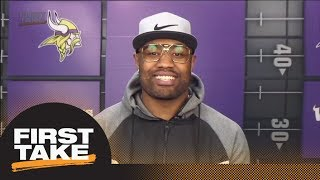 Vikings' Everson Griffin describes sideline during Stefon Digg's winning TD   First Take   ESPN