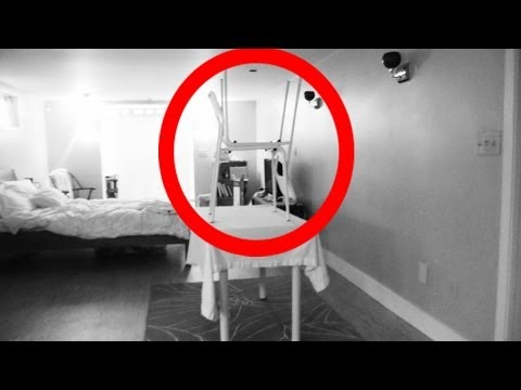 Night Vision Camera catches crazy ghost activity!