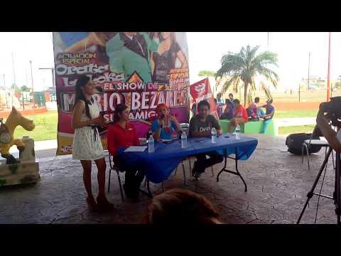 Orata canta #Sociable en Tampico #SinPlayback