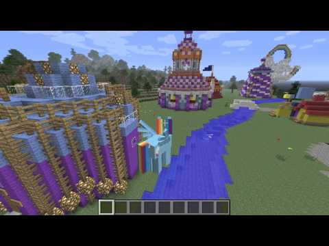Let's Play – Mine Little Pony Minecraft Mod and Equestria Map !!!