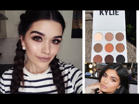 Kylie Jenner KYSHADOW inspired makeup tutorial