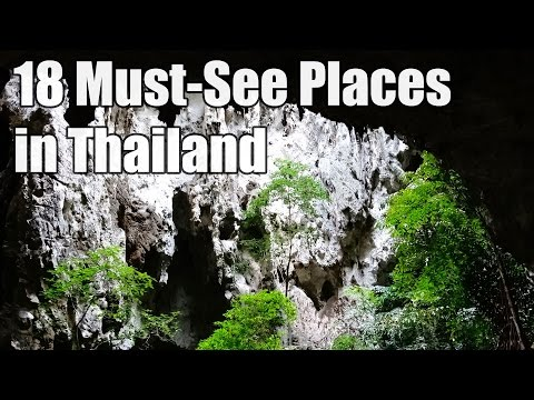 18 Places to Visit in Thailand - 18 hely amit látnod kell Thaiföldön