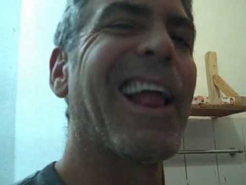 George Clooney Gives Fans A Tour Of His Bathroom Video