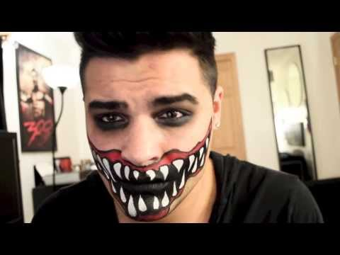 halloween makeup mouth tutorial big mouth makeup scary scary halloween tutorial mouth