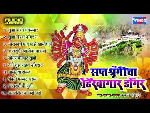 Saptashrungicha Hirwagar Dongar | Top 10 Saptashrungi Devi Songs | Latest Marathi Devotional Songs
