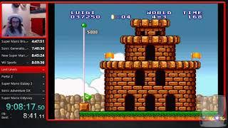 20 Game Speedrun Marathon - Super Mario Bros. The Lost Levels