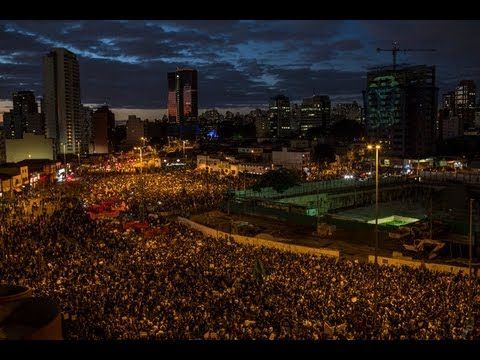 Like Turkey Protests 100,000 Line Streets of Brazil To Protest Corruption