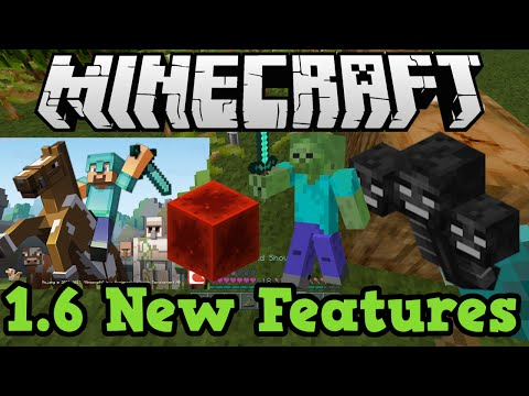 Minecraft Xbox + PS3 + PS4: 1.6.4 / TU19 Update Features (ALL 1.6)