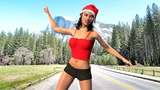 Sexy Santa Girl Dance, 3D Animation Video!