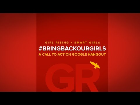 #BringBackOurGirls: A Call to Action Google Hangout