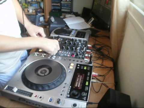 DJ Jenix - Happy Hardcore, Freeform and scratch practice