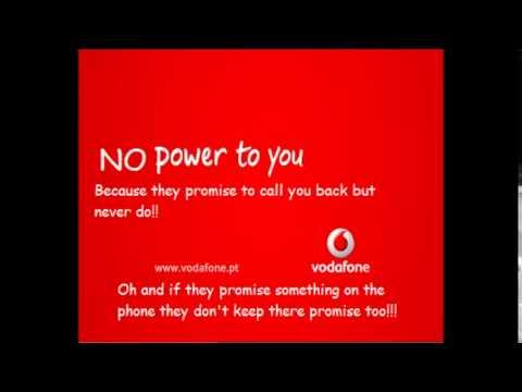 How Vodafone treats it's loyal customers