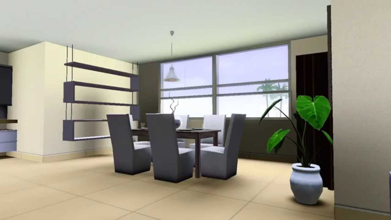 The sims 3 modern house download hd youtube - Sims 3 wohnzimmer modern ...