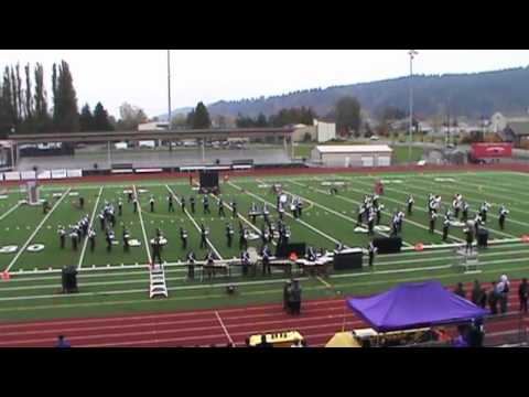 North Thurston High School Marching Band - Sumner Sunset Festival - 2013