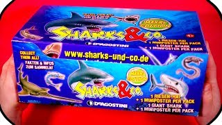 SHARKS and CO Figures Maxxi Edition ????? FULL BOX DeAgostini BLIND BAG UNBOXING