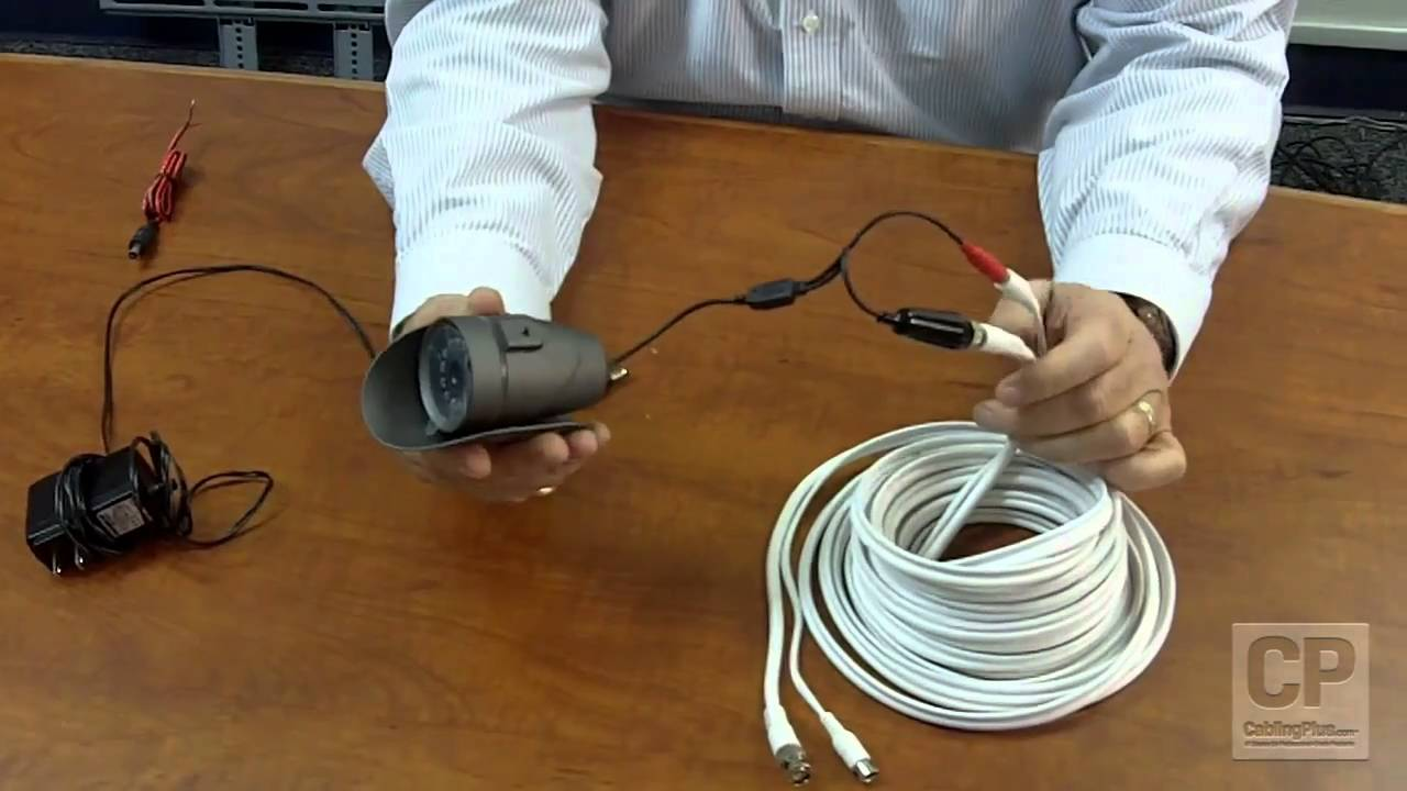 Introduction video to premade cctv cables for security for Security camera placement tool