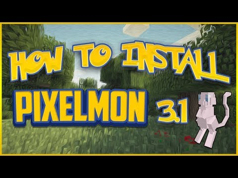 How To Install Minecraft Pixelmon 3.2.4 [1.7.10] [Forge] TUTORIAL: Quick & E
